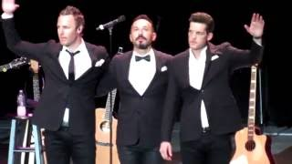The Tenors Adagio / Nessun Dorma at Greek Theater LA July 2016