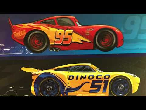 Disney Pixar Cars 3 Read-Along - Storybook Comes To Life! *SPOILERS*