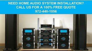 Home Audio Installation Dallas Tx 972-818-5512 Home Theater Systems Dallas TX