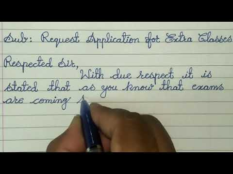 Download One Week Marriage Leave Application For School Letter Writ