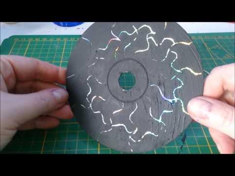 D. I. Y.  aus CD's Untersetzer machen