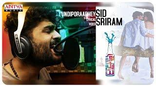 Undiporaadhey Lyrical    Hushaaru Songs    Sree Harsha Konuganti    Sid Sriram    Radhan