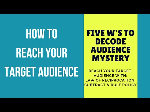 How to Reach Your Target Audience: Subtract and Rule Policy