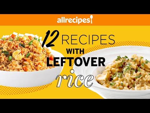 Got Leftover Rice? Learn 12 Ways To Transform It! | Recipe Compilation | Allrecipes.com