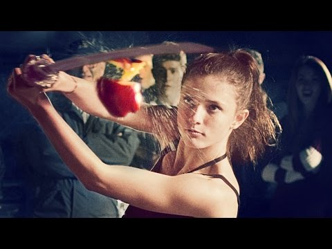 FRUIT NINJA - A REAL LIFE BATTLE! // @ScottDW