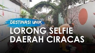 Dulunya Gelap dan Rawan Aksi Kriminalitas, Gang Sepanjang 400 M Diubah Menjadi Lorong Selfie