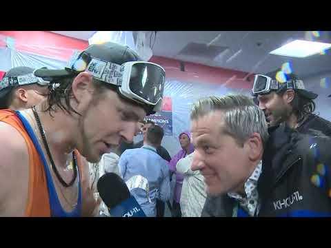 Josh Reddick is always a fun interview, especially when the Astros win!