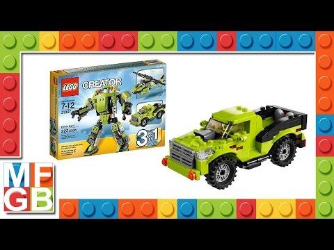 Vidéo LEGO Creator 31007 : Le super robot