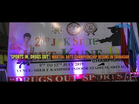 'Sports in, drugs out': Martial arts championship begins in Srinagar