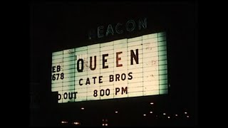 Queen - Silent 8mm Footage: The Beacon Theater, NYC (February 1976)