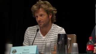 """Dragon*Con 2012 Day 1 - Jamie Bamber On """"Fat Lee Adama"""""""