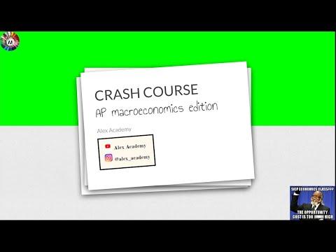 CRASH COURSE: AP Macroeconomics Exam Cram (Part 1) 99 ...
