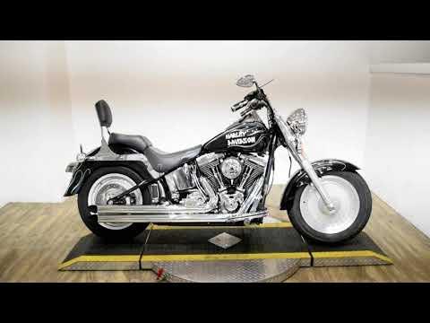 2001 Harley-Davidson FLSTFI Fatboy in Wauconda, Illinois - Video 1