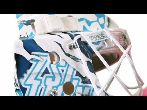 Le maschere e i caschi sono un po' il biglietto da visita dei portieri di hockey