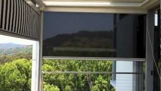 Zipscreen Motorised Mullumbimby Canvas & Mesh