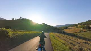 Motorcycle vs fpv drone 2k