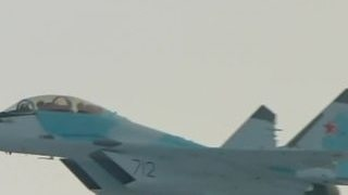Путину показали МиГ-35, оснащенный лазерным оружием