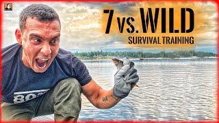 7 vs. Wild Survival Training - Fische fangen in Schweden | Survival Mattin