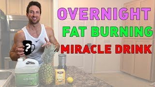 "Lose Belly Fat FAST With the Overnight ""Belly Fat Buster"" Drink!  (7 DAY FAT LOSS!)"
