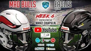Mad Bulls Barletta vs Eagles Salerno