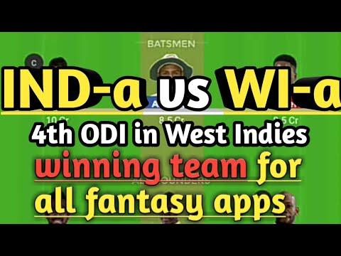 Dream11 Today Team Prediction