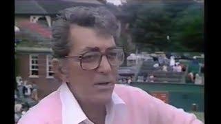 Dean Martin Interview at Wimbledon 1983