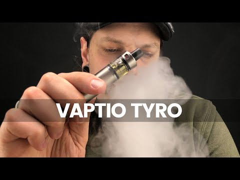 YouTube Video zu Vaptio Tyro Starterset 1500 mAh 2 ml