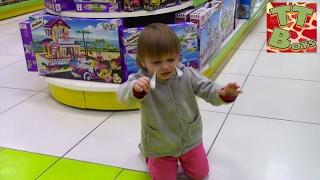 Приключения в Магазине Игрушек | Видео для детей | Игорь потерял маленькую сестричку
