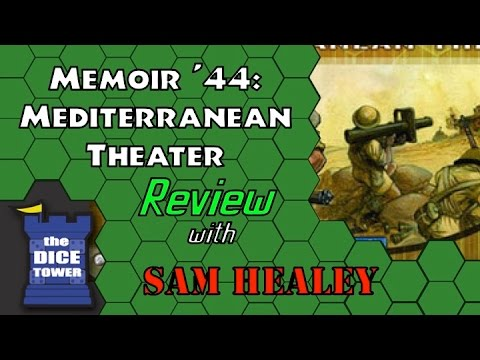 M'44: Mediterranean Theater - A Dice Tower Review with Sam Healey