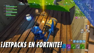 ¡JETPACKS en Fortnite!