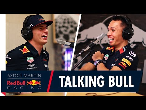 Image: Watch Albon and Verstappen host a podcast together!