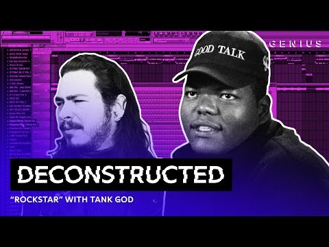 """The Making Of Post Malone s """"rockstar"""" With Tank God   Deconstructed"""