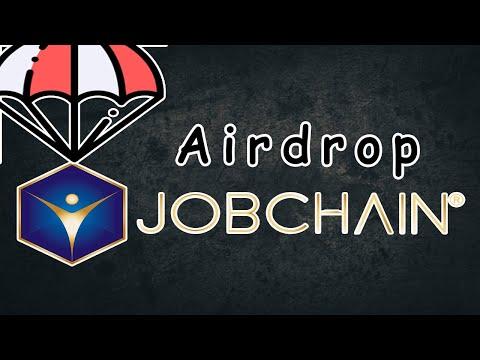 Airdrop Jobchain ~$10 Dólares Free , 100% Verificado !🚀