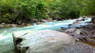 Tau-turgens gorge river / Тау-тургеньское ущелье, река.