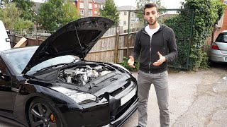 GETTING MY NISSAN GTR STAGE 4.25 UPGRADE!! (480-650HP)