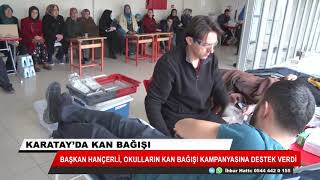 Karatay'da kan bağışı