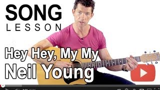How To Play Hey Hey, My My By Neil Young On Guitar With Mark Mckenzie