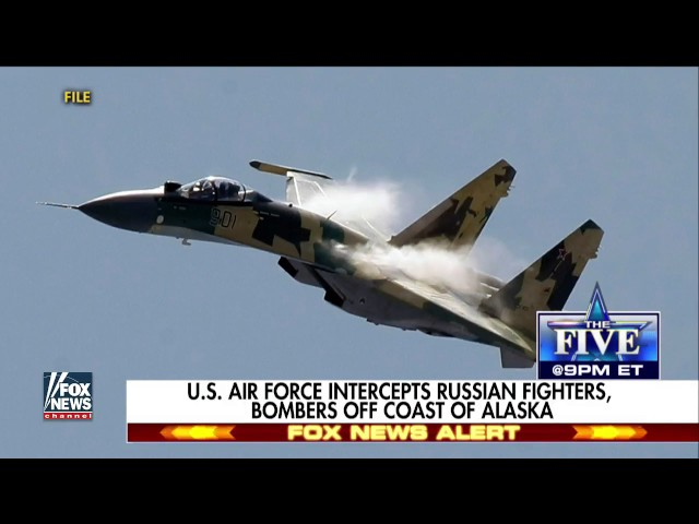 Russian Bombers, Fighters Intercepted Off Alaskan Coast