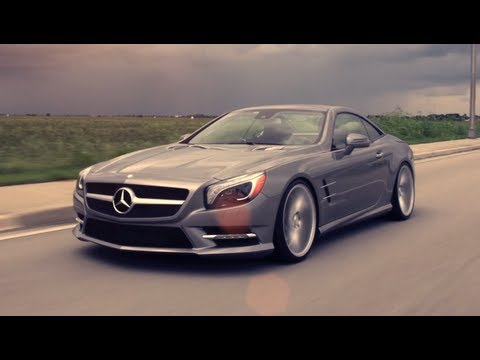 Mercedes-Benz SL550 | Vossen CVT Directional Wheels | Rims