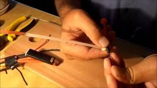 Как сделать удочку с кивком боковым