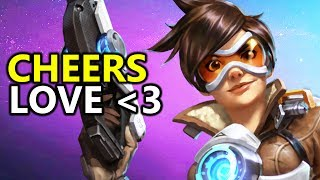 ♥ Heroes of the Storm (HotS) - Tracer Is Untouchable