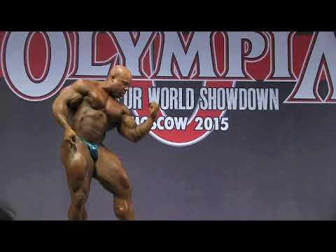 Phil Heath Exhibition in Moscow. Individual Routine