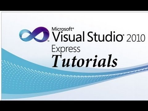 Visual Basic 2010 Express Tutorial – 1 – Making your first program