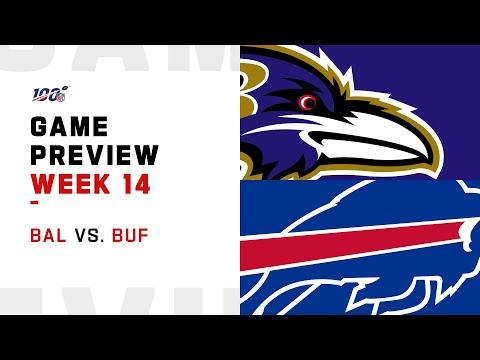 Baltimore Ravens vs Buffalo Bills Week 14 NFL Game Preview