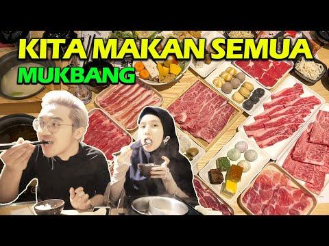 MUKBANG SHABU SHABU SAMPE MEIRA MABOK !