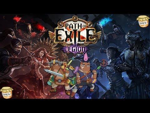 Path of Exile: Legion - ⚔️Farmení/Expení na lv100⚔️