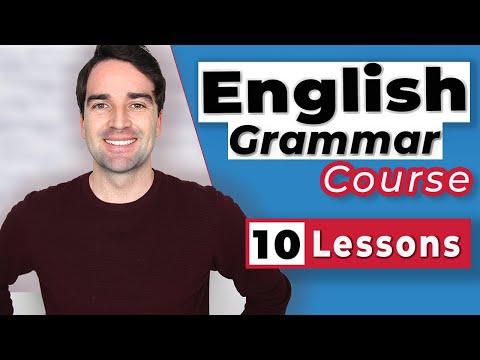 English Grammar Course for Intermediate Level Students. Intermediate to Advanced English Grammar