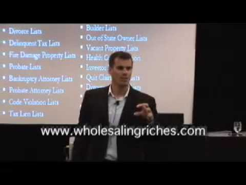 Real Estate Investing Tips by Than Merrill on Direct Mail Marketing Lists