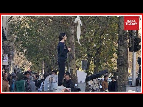 Int'l Speed News: Iranian Women Protest Hijab In Public