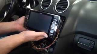 Mercedes ML ALPINE STYLE X800D-ML Installation